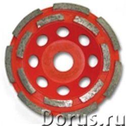 Алмазная чашка MSH230/22,2СB по бетону двухрядная ПРЕМИУМ - Строительный инструмент - Диаметр фрезы..., фото 1