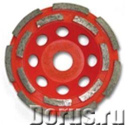 Алмазная чашка MSH180/22,2СB по бетону двухрядная ПРЕМИУМ - Строительный инструмент - Диаметр фрезы..., фото 1