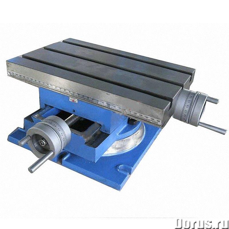 Model-300 поворотный стол управляемый, размер стола: 330*220 мм - Промышленное оборудование - • Пово..., фото 1