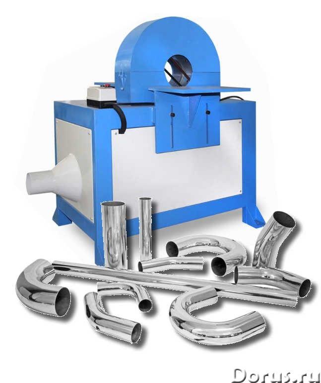 JZ-L6011 Шлифовальный станок для изогнутых металлических труб большого диаметра 45-90 мм - Промышлен..., фото 1