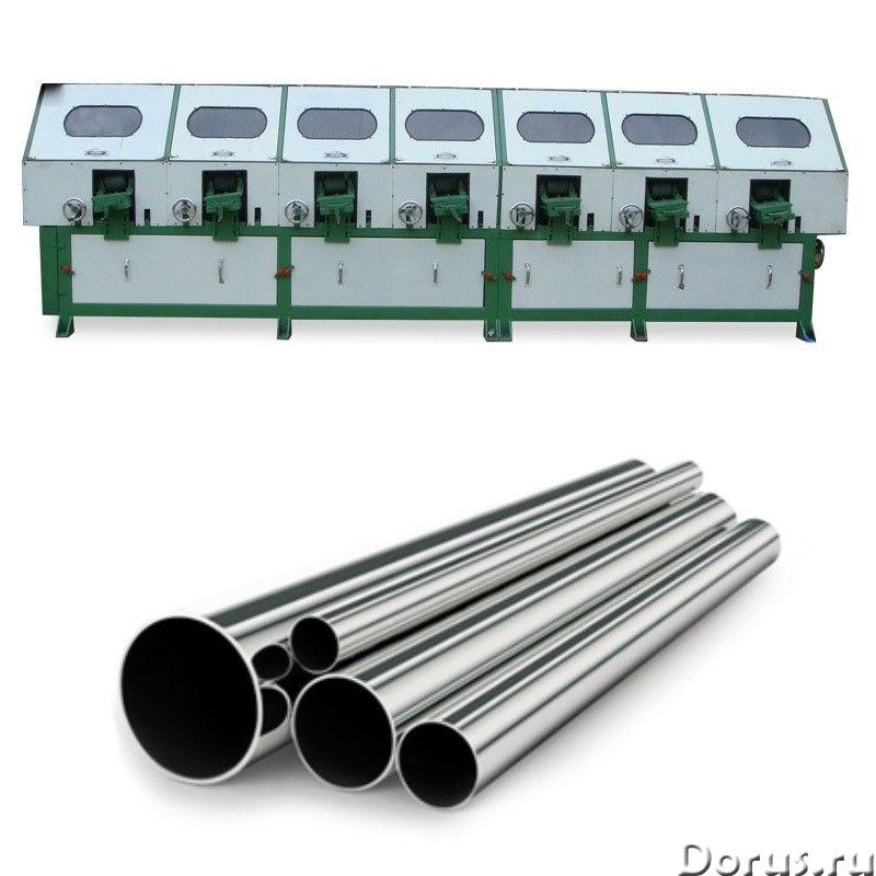JZ-P10010 Станок для полировки металлической трубы (7 головок) - Промышленное оборудование - • Диапа..., фото 1