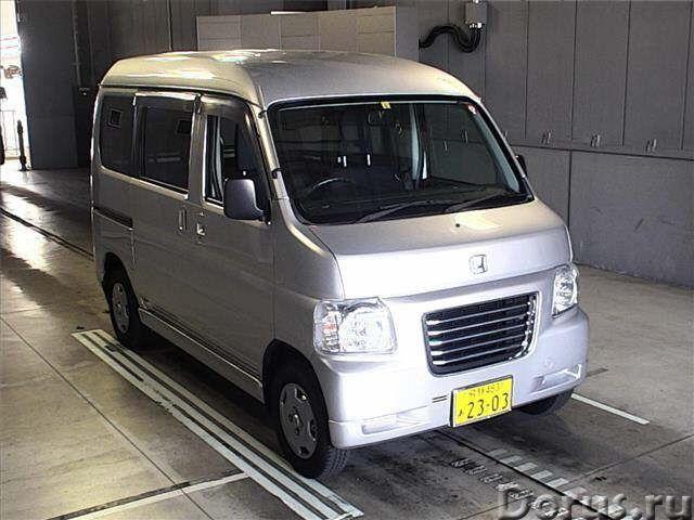 Микровэн 4WD Honda Vamos Hobio кузов HJ2 типа минивэн модификация G - Легковые автомобили - Микровэн..., фото 1