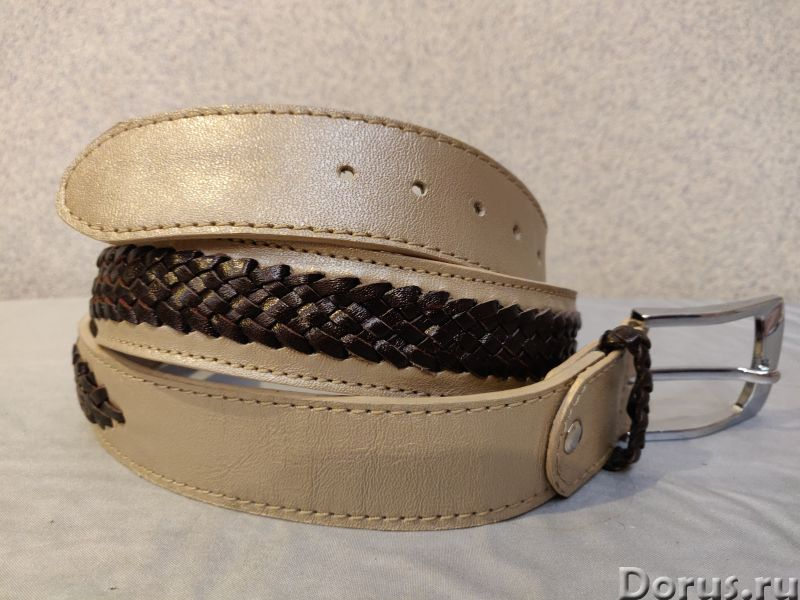 Кожаные ремни - Одежда и обувь - Ателье предлагает изготовление ремней из натуральной кожи по вашим..., фото 2