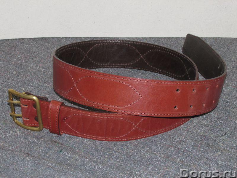 Кожаные ремни - Одежда и обувь - Ателье предлагает изготовление ремней из натуральной кожи по вашим..., фото 6