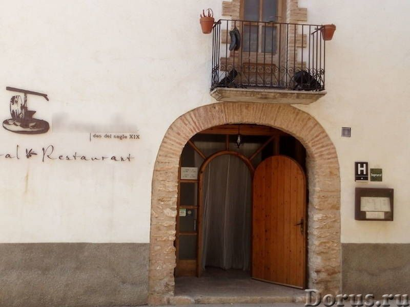 Испания. Недорогая сельская гостиница со СПА и рестораном в провинции Таррагона - Продажа и покупка..., фото 1