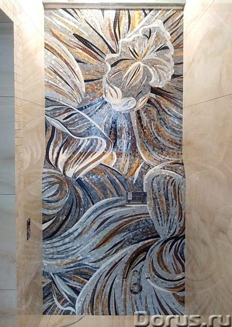 Панно из мраморной и стеклянной мозаики - Дизайн и архитектура - Предлагаем изготовление мозаичных п..., фото 1
