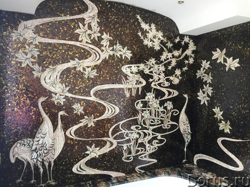 Панно из мраморной и стеклянной мозаики - Дизайн и архитектура - Предлагаем изготовление мозаичных п..., фото 3