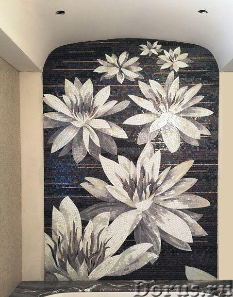 Панно из мраморной и стеклянной мозаики - Дизайн и архитектура - Предлагаем изготовление мозаичных п..., фото 6