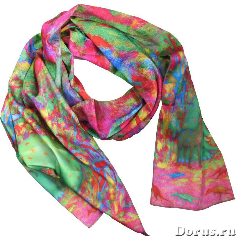 Шарф недорого шарф в дизайнерской упаковке - Аксессуары - Идея изготовления этого шарфа принадлежит..., фото 2