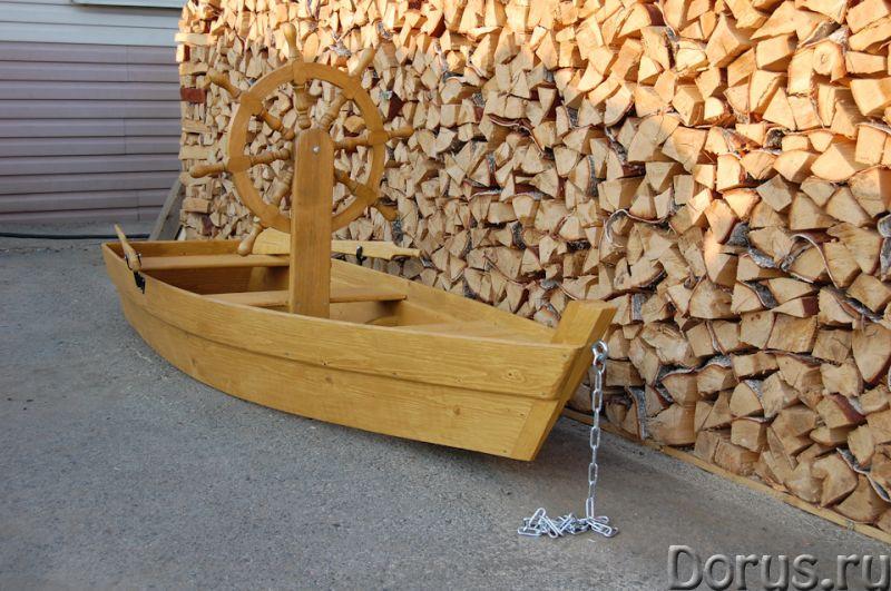 """Песочница """"Лодка со штурвалом"""" - Детские товары - Лодка декоративная со штурвалом. Материал изготовл..., фото 1"""