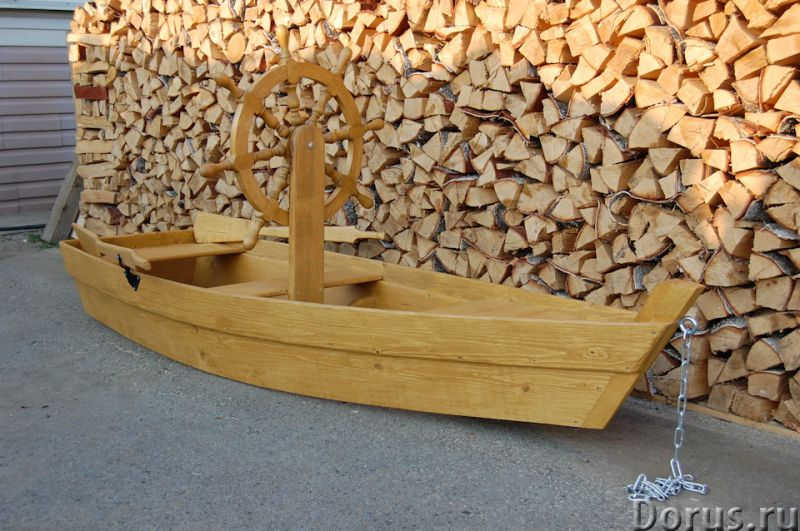 """Песочница """"Лодка со штурвалом"""" - Детские товары - Лодка декоративная со штурвалом. Материал изготовл..., фото 3"""