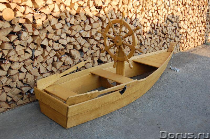 """Песочница """"Лодка со штурвалом"""" - Детские товары - Лодка декоративная со штурвалом. Материал изготовл..., фото 4"""