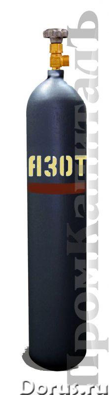 Баллон азотный 10 литров - Сварочное оборудование - Баллоны АЗОТНЫЕ 10 литров 10-150У ГОСТ 949-73. Н..., фото 1