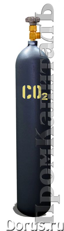 Баллон углекислотный 10 литров - Химия для производства - Баллоны УГЛЕКИСЛОТНЫЕ 10 литров 10-150У ГО..., фото 1