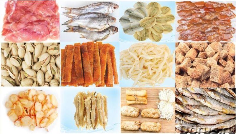 Сушеные морепродукты, вяленая, сушеная рыба, рыбные снеки, закуски к пиву оптом - Рыба и морепродукт..., фото 1