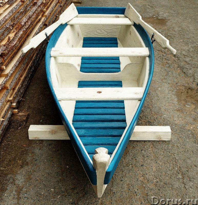 Лодка декоративная для дачи и сада - Прочие товары - Лодка деревянная декоративная, длина 250см., цв..., фото 6