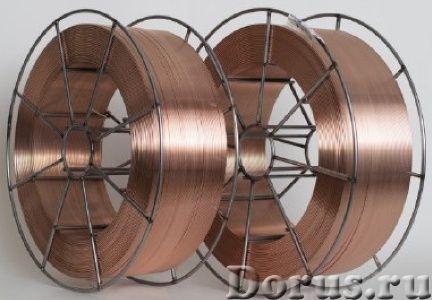 Сварочная проволока СВ 08 Г2С-О ф 2,0 мм (18кг) стальная омедненная - Сварочное оборудование - Диаме..., фото 1