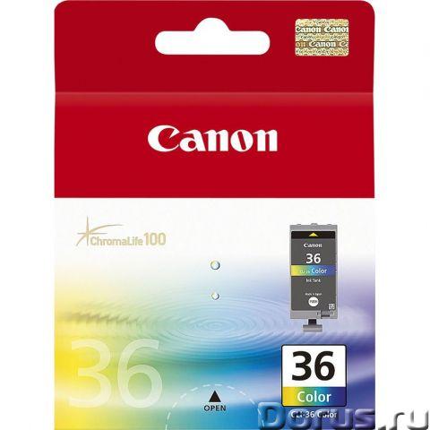 Картридж Canon CLI-36 col (1511B001) цветной - Расходные материалы - Картридж для струйных принтеров..., фото 1