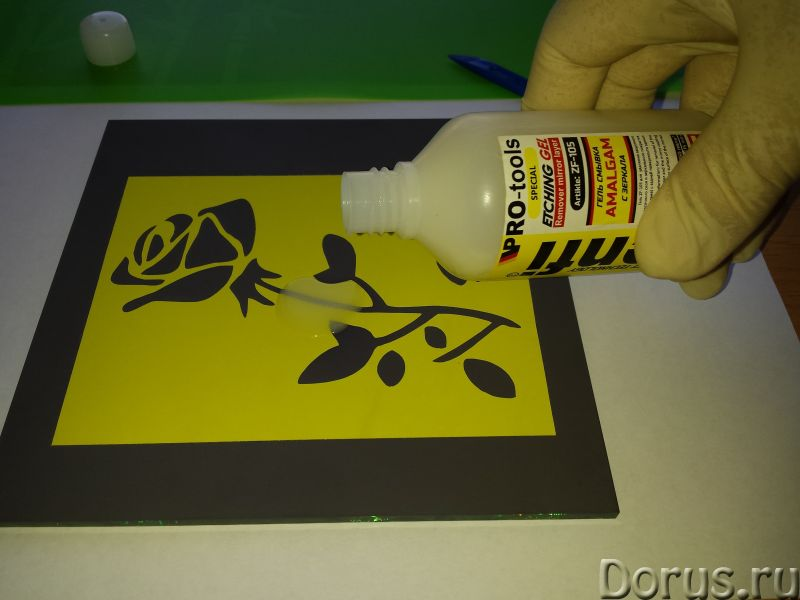 Cмывка zenfi zf-105 для удаления амальгамы с зеркала - Химия для производства - Компания GlassEtch п..., фото 2