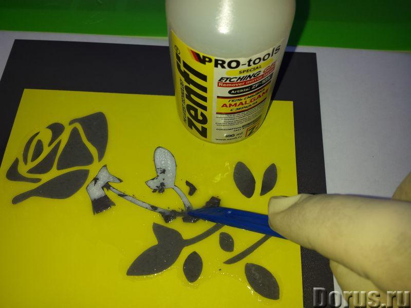 Cмывка zenfi zf-105 для удаления амальгамы с зеркала - Химия для производства - Компания GlassEtch п..., фото 3