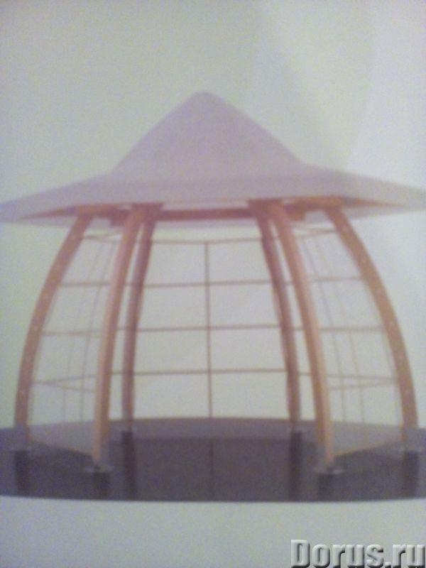 Беседка для свежего воздуха - Дизайн и архитектура - Компактная уютная Беседка для отдыха на свежем..., фото 1