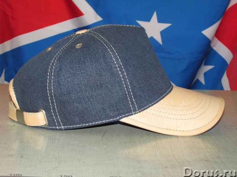 Бейсболка из джинсовой ткани - Одежда и обувь - Бейсболка из джинсовой ткани с козырьком и отделкой..., фото 5