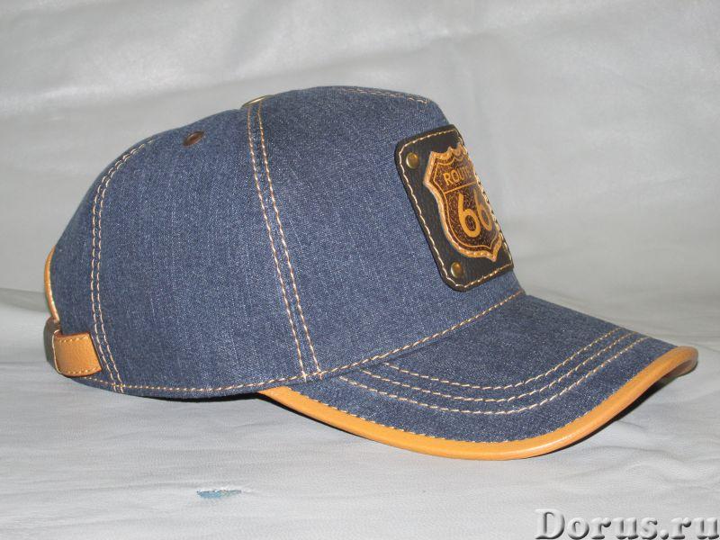 Бейсболка из джинсовой ткани - Одежда и обувь - Бейсболка из джинсовой ткани с козырьком и отделкой..., фото 6