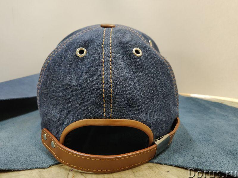 Бейсболка из джинсовой ткани - Одежда и обувь - Бейсболка из джинсовой ткани с козырьком и отделкой..., фото 8