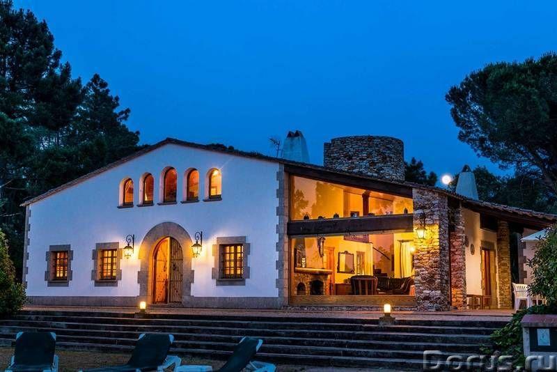 Испания. Двухэтажная вилла с бассейном на участке 1,7 Га. между Жироной и побережьем Коста Брава - Н..., фото 9