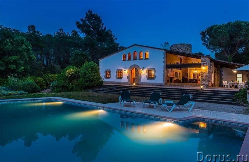 Испания. Двухэтажная вилла с бассейном на участке 1,7 Га. между Жироной и побережьем Коста Брава - Н..., фото 10