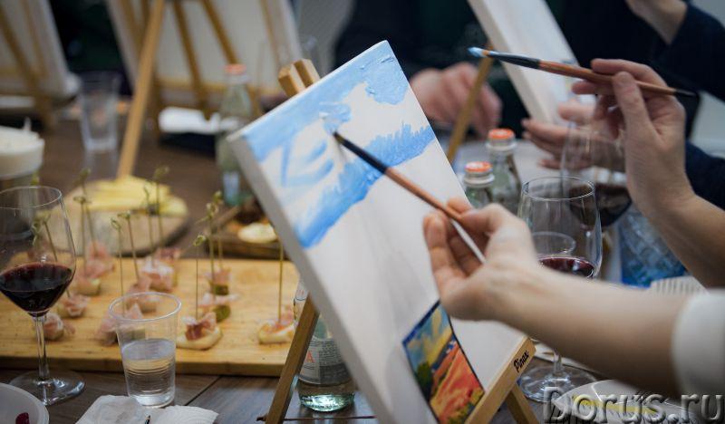 Арт Дегустация - Организация праздников - Хотите побыть художником? Это может каждый – ведь возраст..., фото 1