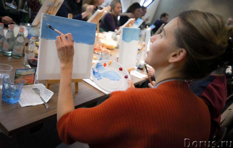 Арт Дегустация - Организация праздников - Хотите побыть художником? Это может каждый – ведь возраст..., фото 2