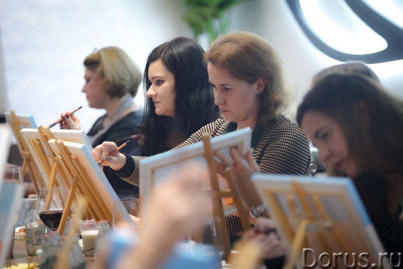 Арт Дегустация - Организация праздников - Хотите побыть художником? Это может каждый – ведь возраст..., фото 4