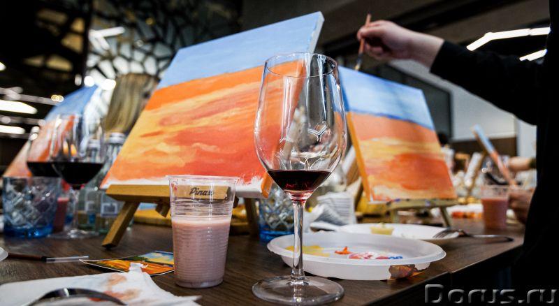 Арт Дегустация - Организация праздников - Хотите побыть художником? Это может каждый – ведь возраст..., фото 5