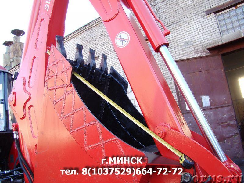 ЭБП-11М экскаватор-погрузчик с усиленным экскаваторным оборудованием и со смещаемой осью копания - С..., фото 10