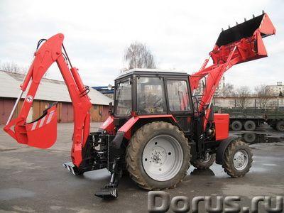 ЭБП-9 экскаватор бульдозер погрузчик на базе трактора МТЗ - Сельхоз и спецтехника - Экскаватор-бульд..., фото 1