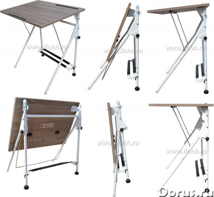 Парта складная, регулируемая - Мебель для дома - Служит письменным столом для школьников младших, ср..., фото 1