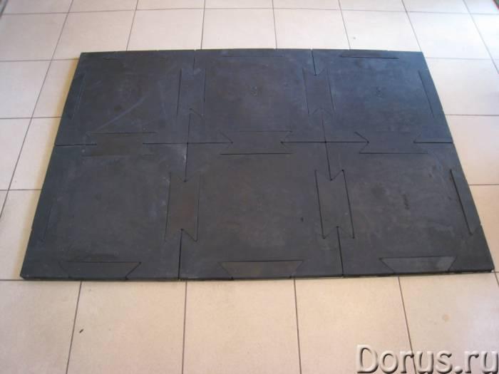 Сборное резиновое покрытие для хоккейных раздевалок и ледовых катков - Спорт товары - Резиновая плит..., фото 5