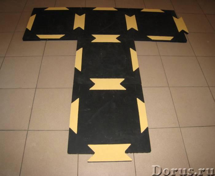 Сборное резиновое покрытие для хоккейных раздевалок и ледовых катков - Спорт товары - Резиновая плит..., фото 6