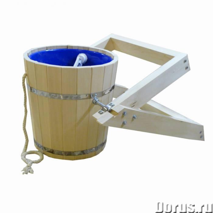 Мебель и аксессуары для бани и сауны из липы - Мебель для дома - Деревообрабатывающее предприятие пр..., фото 4