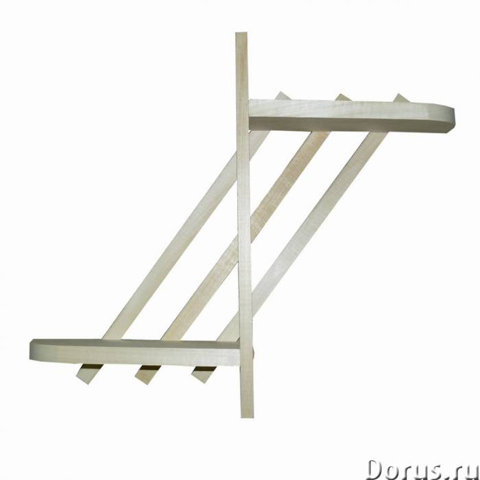 Мебель и аксессуары для бани и сауны из липы - Мебель для дома - Деревообрабатывающее предприятие пр..., фото 7