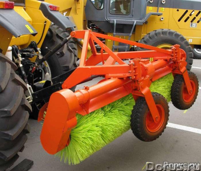 Оборудование щеточное на трактор МТЗ (МТЗ-80, МТЗ-82), ЛТЗ - Сельхоз и спецтехника - Оборудование ще..., фото 1