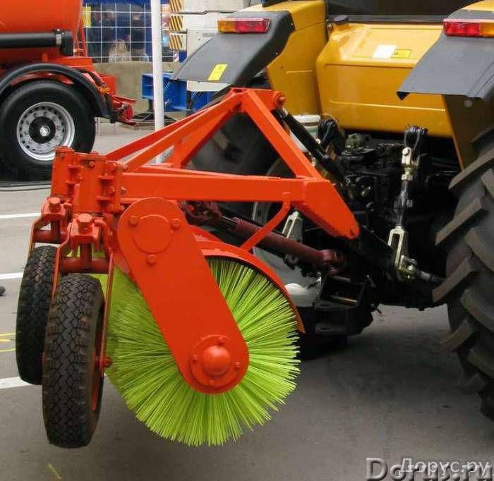 Оборудование щеточное на трактор МТЗ (МТЗ-80, МТЗ-82), ЛТЗ - Сельхоз и спецтехника - Оборудование ще..., фото 2