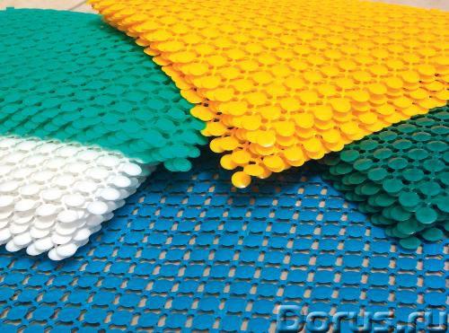 Сборные ковры из пластика для бассейна - Товары для дома - Покрытие «Монета» предназначено для помещ..., фото 1