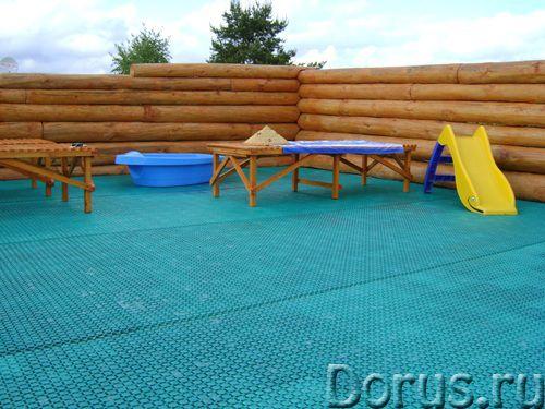 Сборные ковры из пластика для бассейна - Товары для дома - Покрытие «Монета» предназначено для помещ..., фото 3