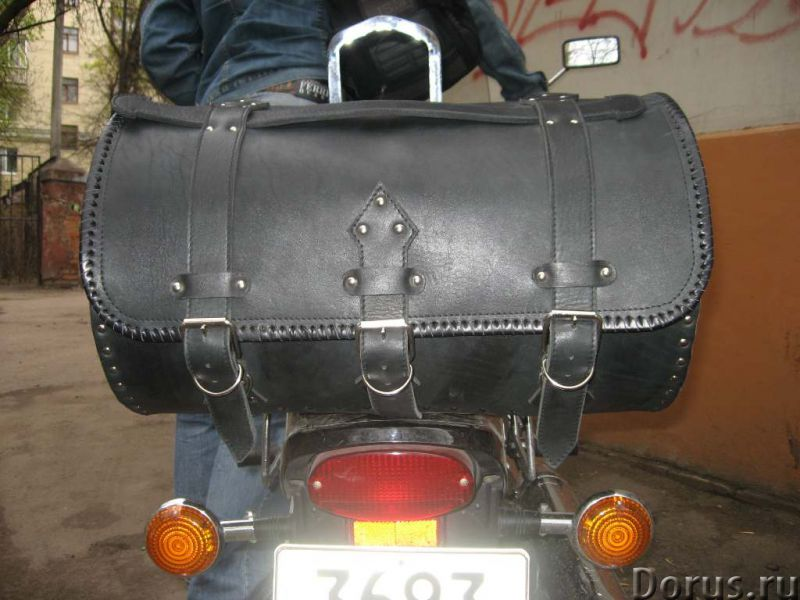 Сумки из кожи для мотоциклов - Запчасти и аксессуары - Ателье Джокер предлагает: Пошив и ремонт сумо..., фото 7