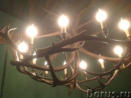 Люстры из оленьих рогов. Мебель Кантри, Western для загородных домов - Товары для дома - Компания «Р..., фото 1