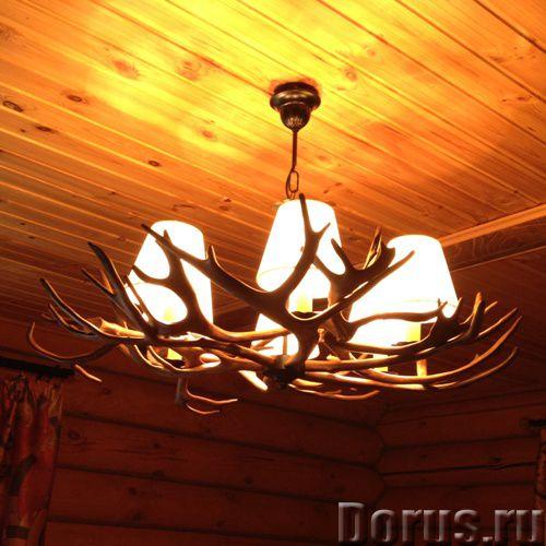 Люстры из оленьих рогов. Мебель Кантри, Western для загородных домов - Товары для дома - Компания «Р..., фото 2