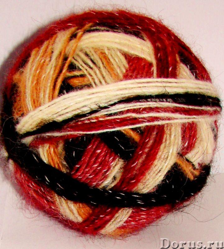 Пряжа «Радуга-1» дизайнерская для ручного вязания - Прочие товары - Пряжа «Радуга-1» дизайнерская дл..., фото 4