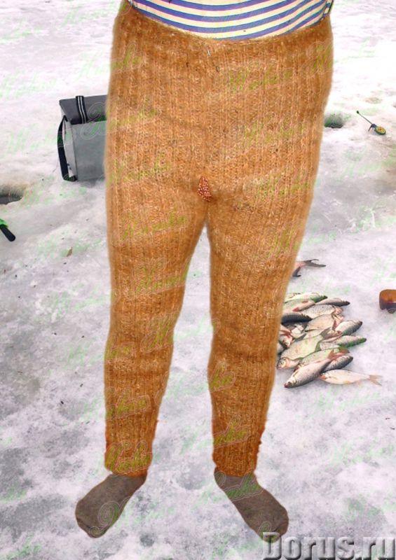 Вяжем теплые штанишки
